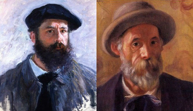 Claude Monet and Pierre-Auguste Renoir