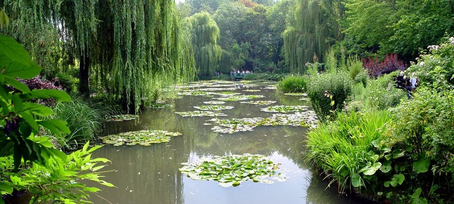 Photo of Monet's Garden at Giverny, France