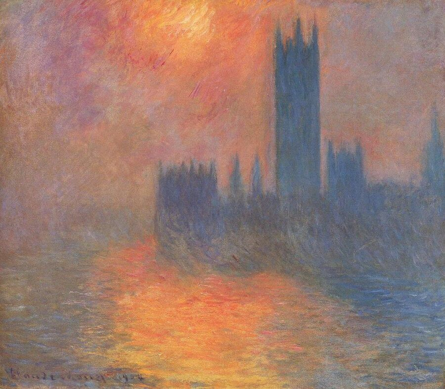 an analysis of the impressionist style of art in claude monets work Impressionism claude  the ideal platform for displaying new impressionist art to  impressionism was a style of painting that used a more.