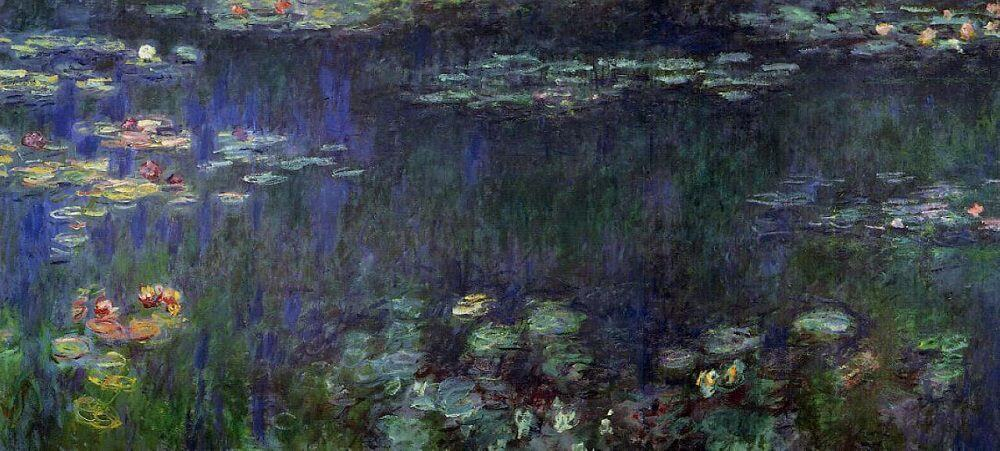Water Lilies, Green Reflection, 1914-17 by Claude Monet