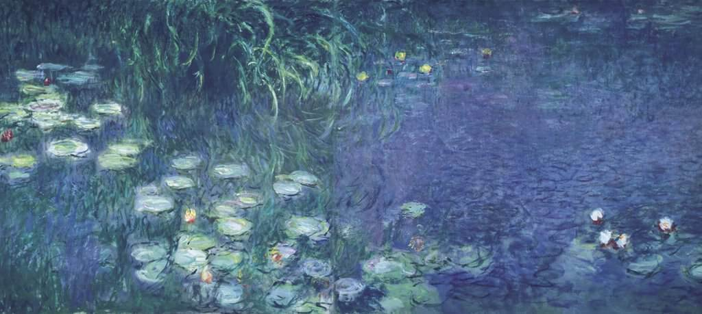 Water Lilies: Morning, 1914 by Claude Monet